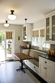 Eat In Kitchen by Perfect Height Table For A Breakfast Nook In A Kitchen Low Enough