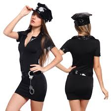 police woman costumes police officer fancy dress party