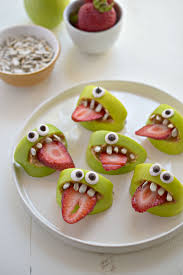Halloween Birthday Food Ideas by Silly Apple Bites Recipe Apple Bite Apples And Snacks