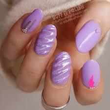 pastel unicorn nails with gel polish