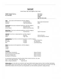 Job Resume Word Format by Resume For Job Seeker With No Experience Business Insider Best