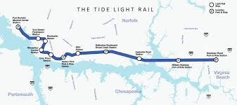 Greyhound Routes Map by The Tide Hampton Roads Transit Bus Trolley Light Rail And