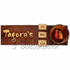 Home Design Names Buy Handmade Name Plate Design For Family Of 3 Members Online In