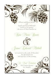 Card Invitation Fall Invitations