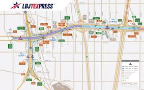 Map Of Dallas Fort Worth Airport by Pricing And Toll Segments Lbj Texpress Lanes