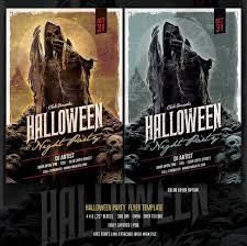halloween flyer background free 13 blood chilling halloween flyer and poster templates