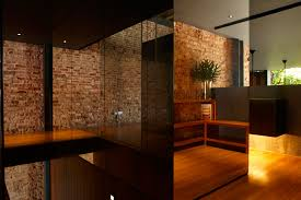 interior nice view with exposed brick wall incredible natural