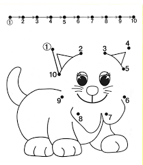 easy dot to dots to practice drawing straight lines fine motor