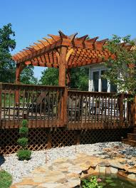 Deck Pergola Ideas by 17 Best Pergola With Deck Images On Pinterest Outdoor Ideas