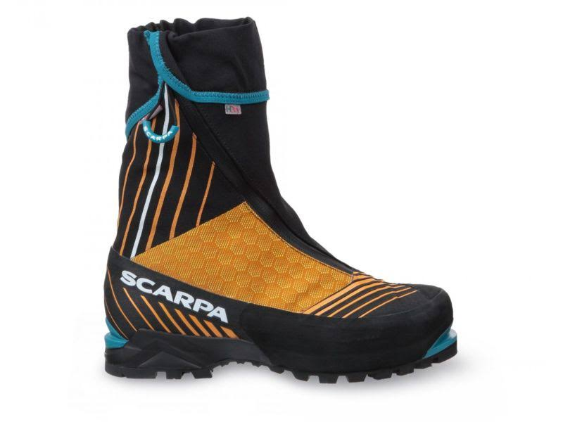 Scarpa Phantom Tech Mountaineering Boots Black/Bright Orange Medium 39.5 87425/210-BlkBorg-39.5