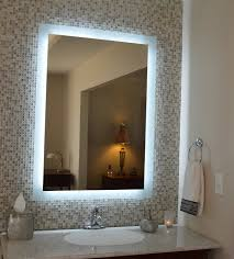 Light Up Makeup Mirror Lighted Bathroom Mirror Decor Essential Lighted Bathroom Mirror