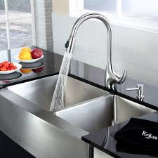 Best Prices On Kitchen Faucets by Stainless Steel Kitchen Sink Combination Kraususa Com
