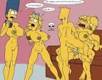 Marge Simpson Sex Black Men Sucking Homers Simpsons Dick