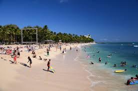 Map Of Waikiki Waikiki Beach Beach In Honolulu Thousand Wonders