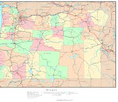 Springfield Oregon Map by Oregon Reference Map