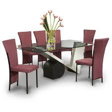 value city furniture dining room sets sets gray floral cover