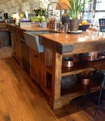 Wooden Kitchen Island Table Best 25 Butcher Block Kitchen Ideas On Pinterest Butcher Block