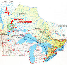 Canada On The Map by Ontario Bush Plane Trail