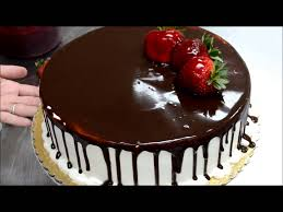 how to make birthday cake less then 2min fruit and chololate