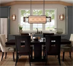 dining room table light fixture height dining room table
