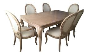 bernhardt tuscan traditional mediterranean dining room set table