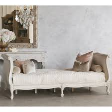 Linen Daybed Twin Clignancourt Daybed In Swedish Antique White Jaimee