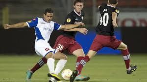 Ahmed Abed (Hapoel Kiryat Shmona FC) \u0026amp; Aymeric Laporte (Athletic ... - 1900210_w2