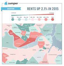 Map Of Boston Neighborhoods by See How Boston Rent Prices Changed In 2015 The Zumper Blog