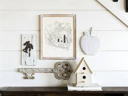 How To Make A Gallery Wall how to make a whitewash display with disparate objects how tos diy