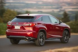 lexus suv with third row 2016 lexus rx review