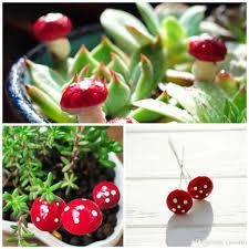Mushroom Home Decor Diy Tiny Mushrooms Garden Terrarium Home Decor Crafts Bonsai