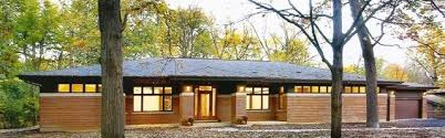 new prairie style ranch modern exterior chicago by west