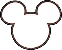 free coloring pages of mickey mouse head outline for mickey and