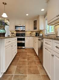 white tile floor kitchen home furniture and design ideas