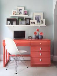 White Bedroom Desk Furniture by Desks And Study Zones Hgtv
