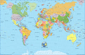Kids World Map Printable World Of The Map