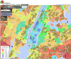Street Map Of New York City by Random Notes Geographer At Large Unconventional Yet Informative