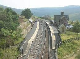 Dent railway station