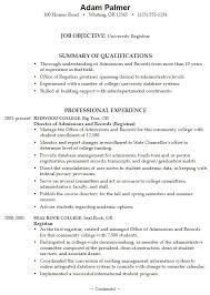 Scholarship Resume Examples by Example Of A College Resume College Student Professional Resume