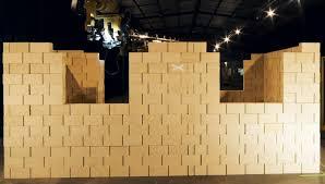 Robotic Wall Australian Company Fastbrick Robotics Introduces A Robot That Can