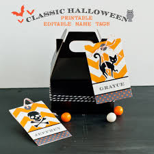 Printable Halloween Bags Printable Personalized Halloween Name Tags By Anders Ruff