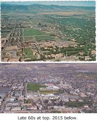 Colorado State University Map by Then And Now Csu In The Late 50s And 60s Forgotten Fort Collins