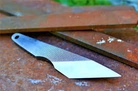 Japanese Style Kitchen Knives Knife Making Making A Simple Japanese Kiridashi From An Old File