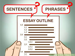 Easy Ways to Write an Essay Outline   wikiHow wikiHow