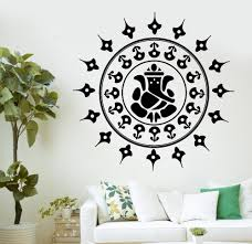 popular buddha wall decal buy cheap buddha wall decal lots from wall decal buddha ganesha hinduism gods vinyl sticker wall pictures for living room wall stickers home