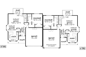 floor plans for multi family homes part 41 two story duplex