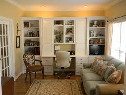 positively southern living room office with built cabinets living room office with built cabinets