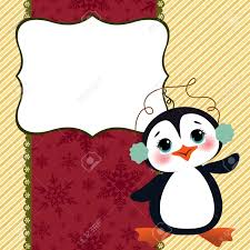 cute christmas new year postcard template royalty free cliparts