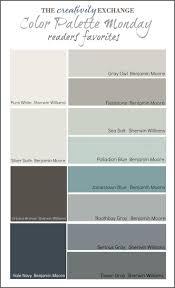 best 25 modern paint colors ideas on pinterest interior paint readers favorite paint colors color palette monday