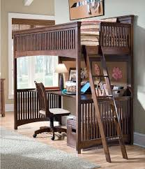 Bunk Beds With Desk Underneath Image Of Full Size Loft Bed With - Kids bunk bed with desk